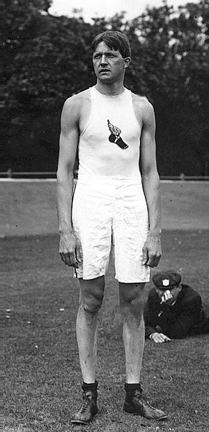 Ray Ewry - Ray Ewry at the 1908 Olympics
