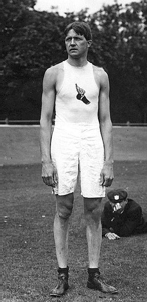 Ray Ewry - Ray Ewry at the 1908 Olympics