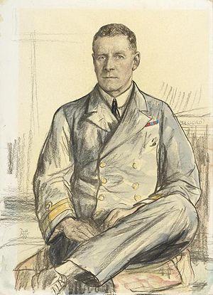 Osmond Brock - 1917 portrait by Francis Dodd