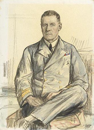 Deputy Chief of the Naval Staff - Image: Rear admiral Osmond de Beauvoir Brock Cb Cmg Art.IWMART1722