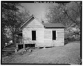 Rear and north view of 413 Winn Street - 413 Winn Street (House), Sumter, Sumter County, GA HABS GA,131-AMER,13-6.tif