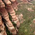 Red rock formations coconino.JPG