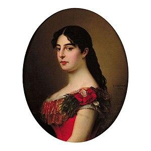 Natalie of Serbia - Queen Natalija of Serbia.