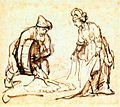 Rembrandt - Boaz Casting Barley into Ruth's Veil - WGA19080.jpg