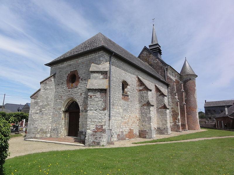 Renneval (Aisne) église, sud-ouest