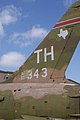 Republic F-105F Thunderchief LTail CFM 7Oct2011 (15138447710).jpg