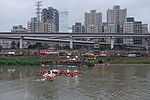 Rescue Team Searching Crashed B-22816 in Keelung River 20150204j2.jpg