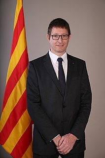 Spanish lawyer and politician