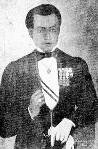 Bernardo de Monteagudo - An 1876 portrait