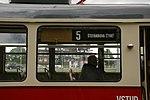 Retrotramvaj T2 1435 na lince č. 5 (3).jpg