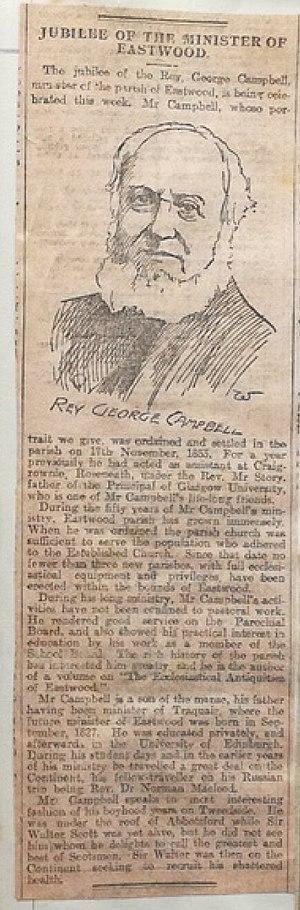 Rev George Campbell Jubilee (unknown newspaper).jpg