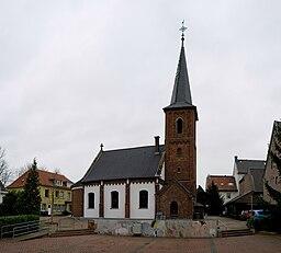 Rheinberg, Evangelische Pfarrkirche, 2011 12 CN 02