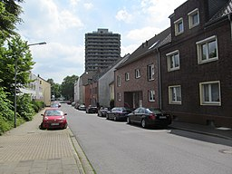 Rheinstraße in Duisburg