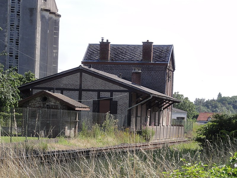 Ribemont (Aisne) ancienne gare