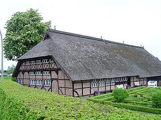 Low German house - The 1533 Rieck'sches Haus in Hamburg-Bergedorf