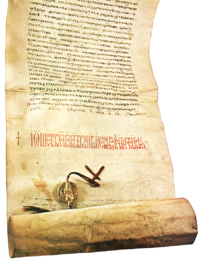 A medieval charter