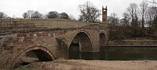 Ringley Old Bridge in Ringley Ringley old bridge.jpg