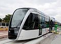 Rio de janeiro tramway first one placed.jpg