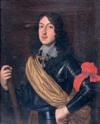 Charles II, Duke of Mantua and Montferrat - Portrait of Duke Charles II