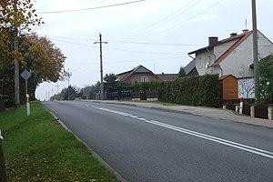 Rożniątów - Image: Rożniątów, hlavní silnice