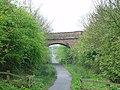 Road Bridge over disused railway line - geograph.org.uk - 531897.jpg