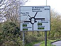 Road sign, Claydon - geograph.org.uk - 1242822.jpg