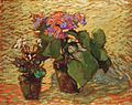 Robert Antoine Pinchon, 1915-20, Pots de géraniums, oil on board, 72.8 x 91.5 cm.jpg