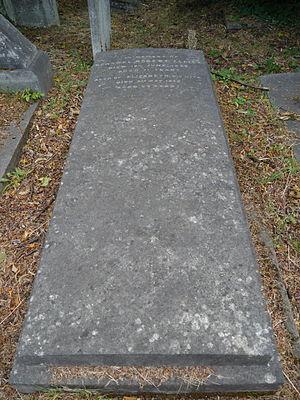 Robert Ellice - Grave, Kensal Green Cemetery