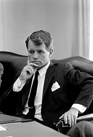 Robert F. Kennedy, Cabinet Room, White House, ...
