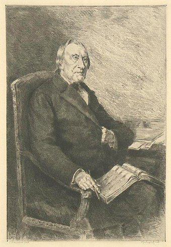 Franz in later life, by Valerian Gribayedoff, from a painting by Curt Herrmann Robert Franz, Herrmann.jpg