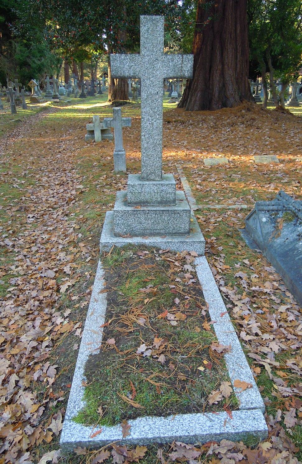 Robert Nisbet Bain Grave