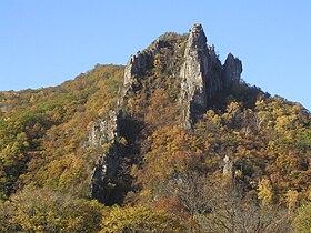 https://upload.wikimedia.org/wikipedia/commons/thumb/4/4d/Rock_in_Sikhote-Alin.jpg/280px-Rock_in_Sikhote-Alin.jpg
