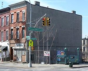 Rockaway Avenue (IND Fulton Street Line) - Boyland Street stair