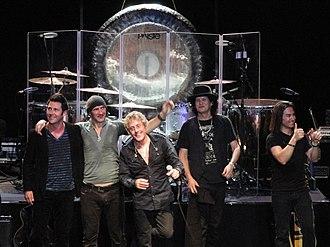 No Plan B (band) - Daltrey at center with band members at Royal Albert Hall in March 2011.