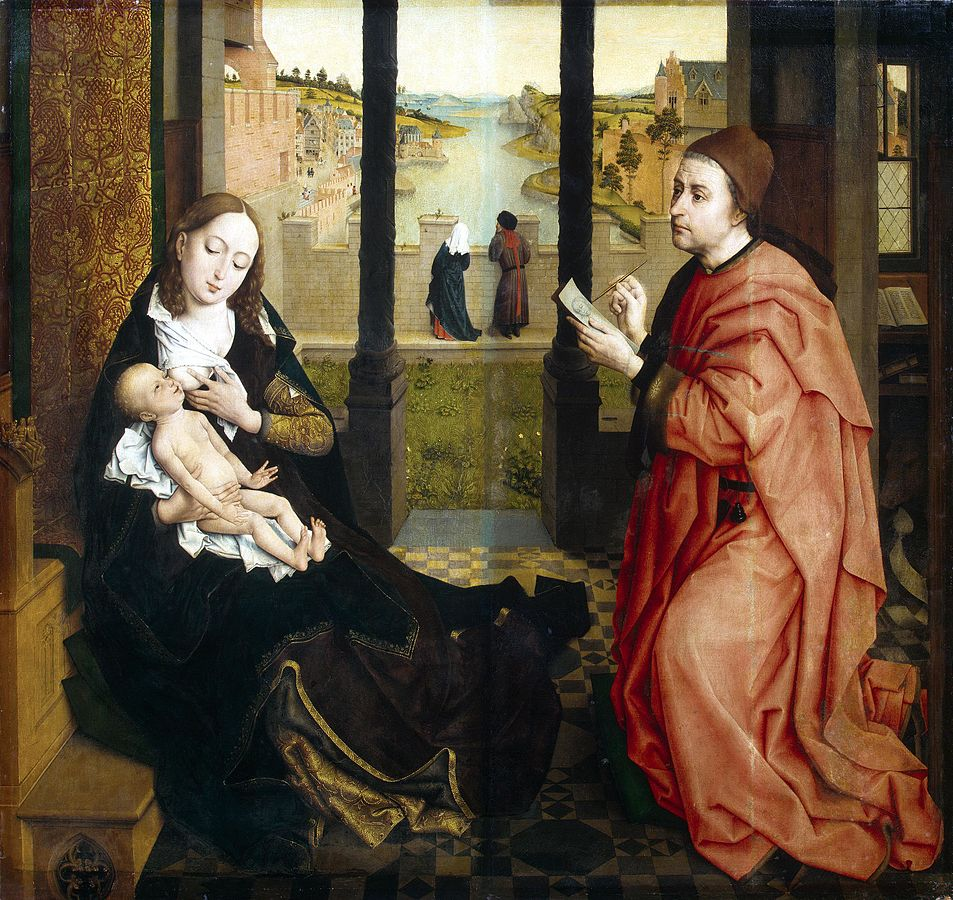 rogier van der weyden essay Died on 18 june 1464: rogier de la pasture van der weyden, flemish northern renaissance painter born in 1399 or 1400 — biography extensive coverage with commentaries and links to reproductions, in whole and in many details, of.