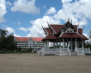 Roi Et Town in Roi Et Province, Thailand