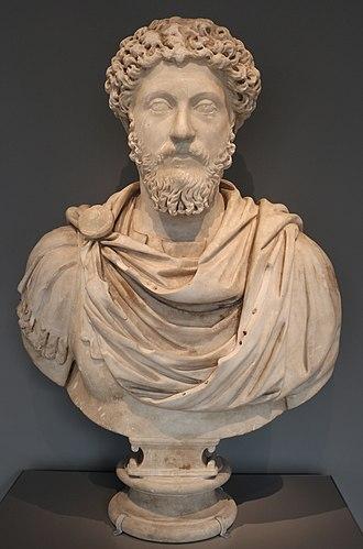 Reign of Marcus Aurelius - Bust of Marcus Aurelius in the Art Institute of Chicago, United States
