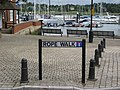 Rope Walk on Hamble waterfront - geograph.org.uk - 875997.jpg