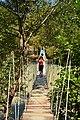 Rope bridge over the river Acheron.jpg