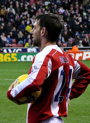 Rory Delap - Rory Delap in 2008