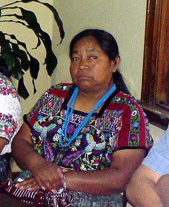 Rosalina Tuyuc - Rosalina Tuyuc in 2007