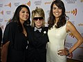 Rose Garcia, Mikey Koffman and Tracy Ryerson 2010 GLAAD Media Awards.jpg