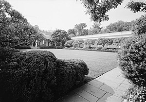 Rachel Lambert Mellon - The White House Rose Garden after Mellon's landscaping