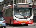 Rossendale Transport bus 150 (PO53 OBU) 2003 Volvo B7RLE Wrightbus Eclipse Urban, Bacup, 9 June 2011.jpg