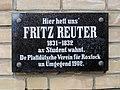 Rostock Gedenktafel Fritz Reuter.jpg