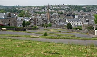 Rothesay, Bute - Rothesay from Serpentine Road