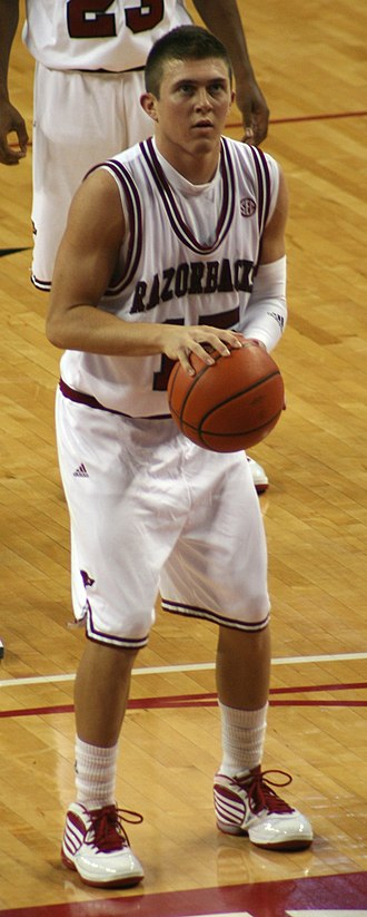Rotnei Clarke - Clarke prepares to take a free throw against Morgan State on November 25, 2009