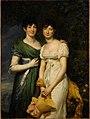 Rouget - Françoise-Élisabeth (née en 1783) et Gaspard-Pauline Mollien (1785-1864).jpg