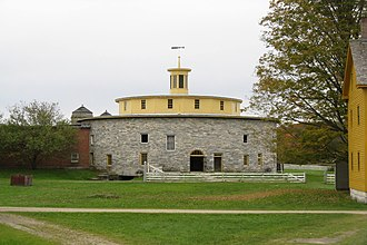 Hancock, Massachusetts - The Round Barn at Hancock Shaker Village