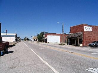 Quapaw, Oklahoma - Image: Route 66 in Quapaw
